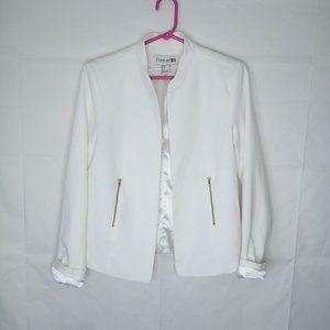 Forever 21 Blazer Women Size M White